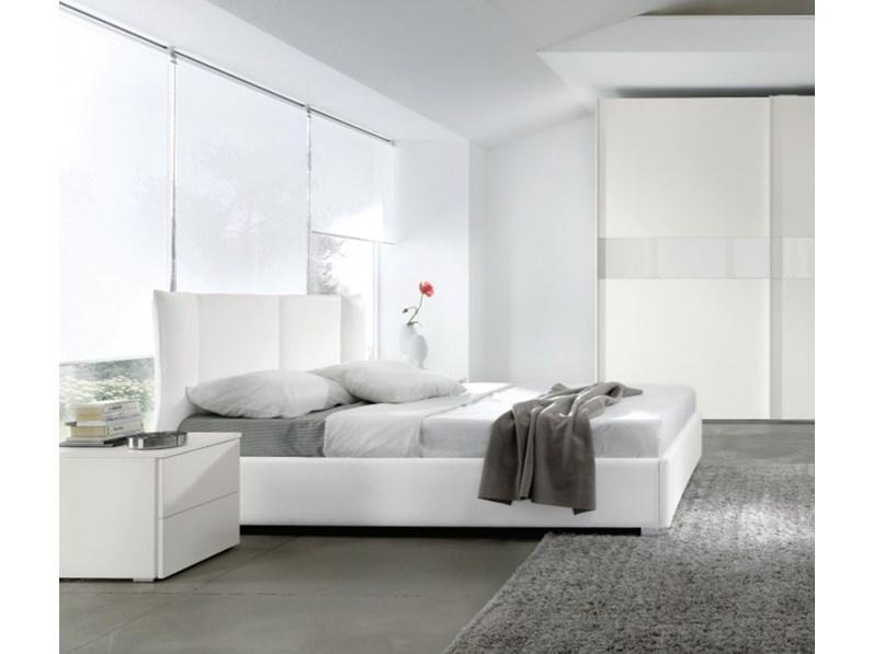 Letto contenitore designe fine serie for Letti outlet design