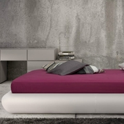 Letto ecopelle bianca md work srl