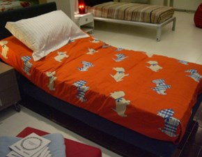 LETTO Copripiumino flou doggy singolo Flou in OFFERTA OUTLET