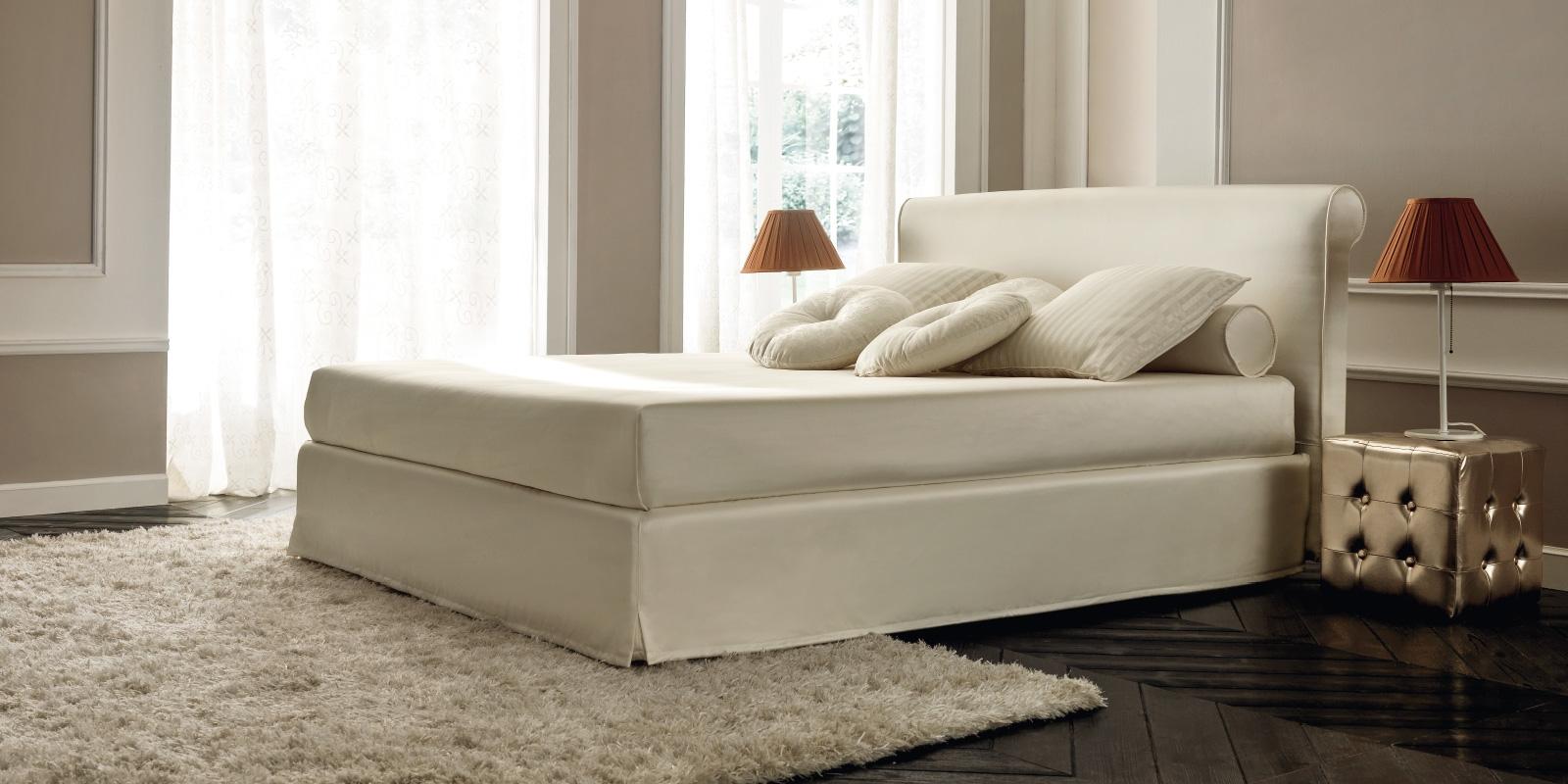 Letto alla francese letto imbottito slim style with letto - Camera da letto in francese ...