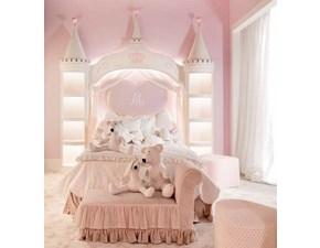 Letto design a baldacchino Cameretta luxury principessa Md work a prezzo scontato