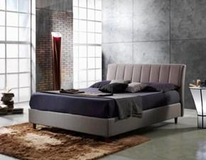 Letto design con contenitore Manon mottes mobili Artigianale a prezzo scontato