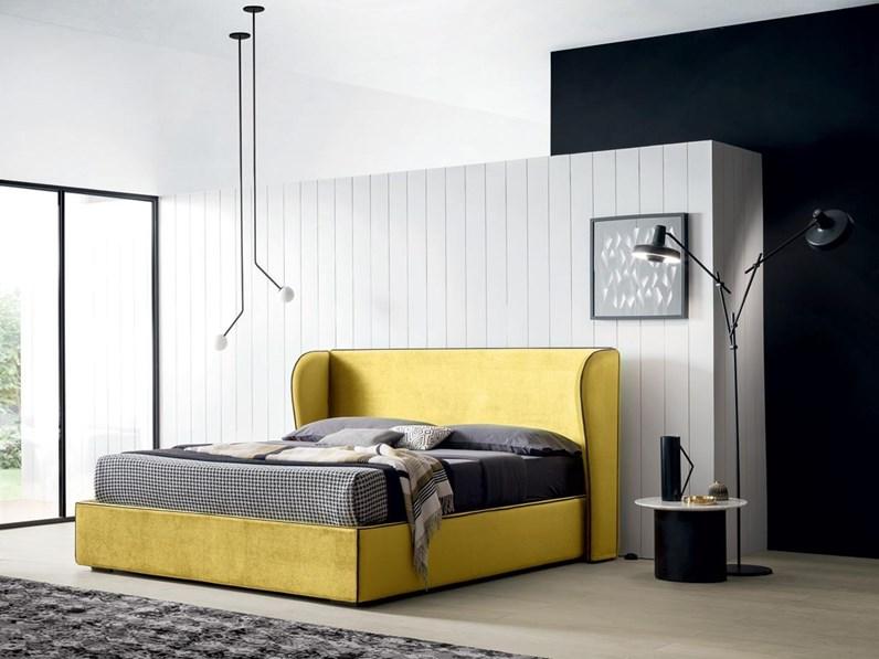 Letti Matrimoniali Design Con Contenitore.Letto Design Con Contenitore Paris Felis A Prezzo Ribassato