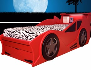 Letto design con giroletto Dream-car Idema casa a prezzo scontato