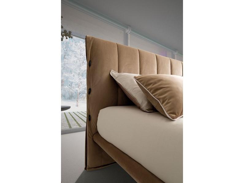 Letto design con giroletto sherman lecomfort a prezzo scontato for Letto design offerta