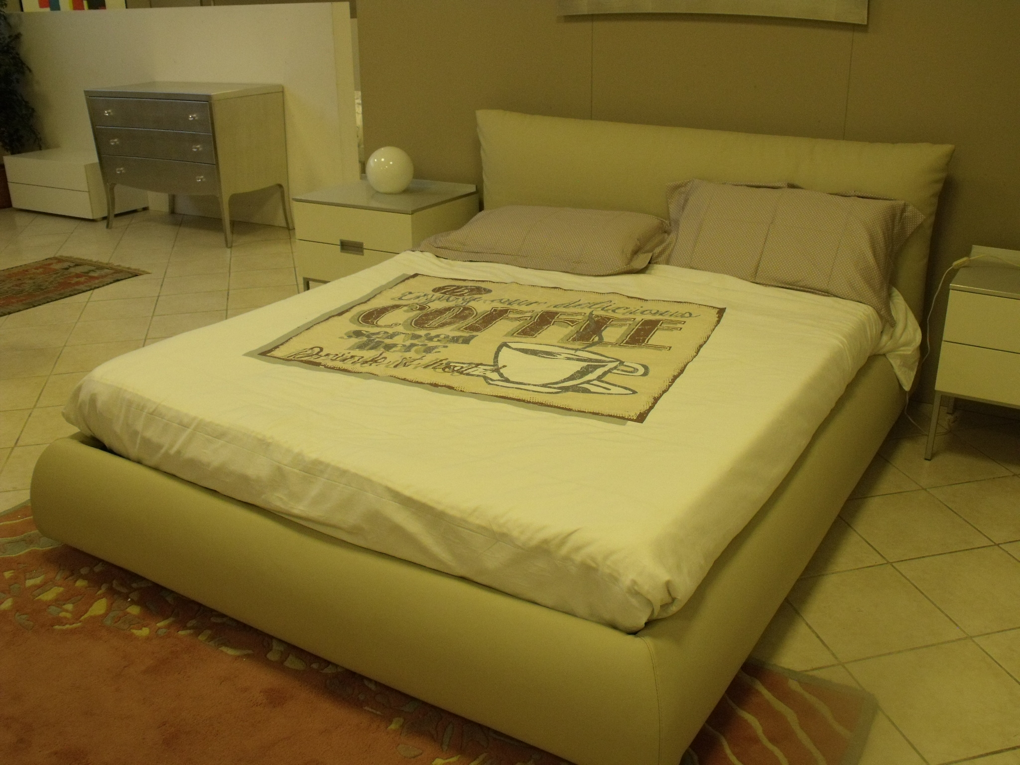 Letto Dorelan Letto pillow Matrimoniale Design Imbottiti - Letti a ...