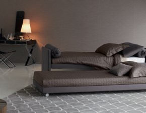 LETTO Duetto Flou in OFFERTA OUTLET