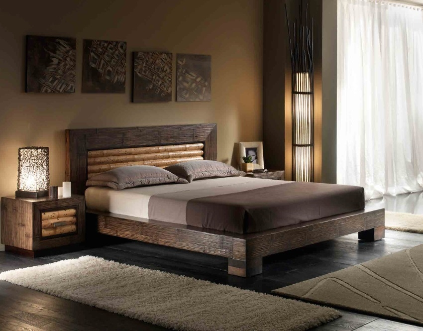 Letto etnico tiger rumba matrimoniale in offerta for Outlet del letto
