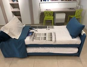 letto Flou Duetto con secondo letto