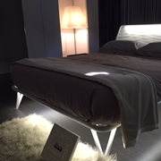 Letto matrimoniale Flou Essentia con led