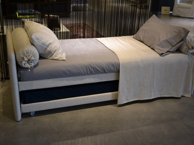 Letto flou l duetto for Outlet letti flou