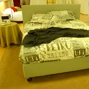 Letto Flou Notturno Matrimoniale Design Imbottiti