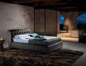 Letto imbottito con contenitore Milano luxury s.Md worka prezzo ribassato