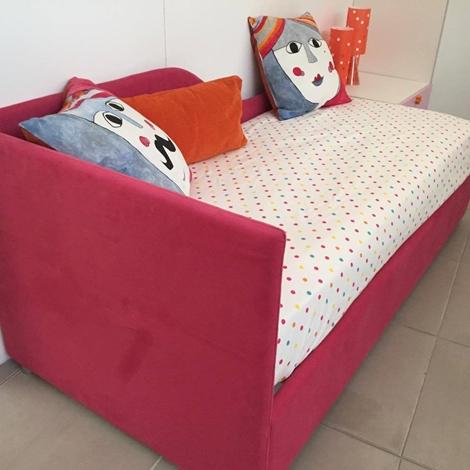 letto imbottito JOY (90 x 200) secondo letto estraibile (MATERASSI ORTOPEDICI) - Letti a prezzi ...