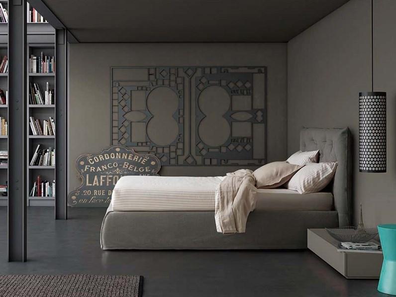 Letto impunto completo di materasso pianca in offerta outlet for Letti di design in offerta