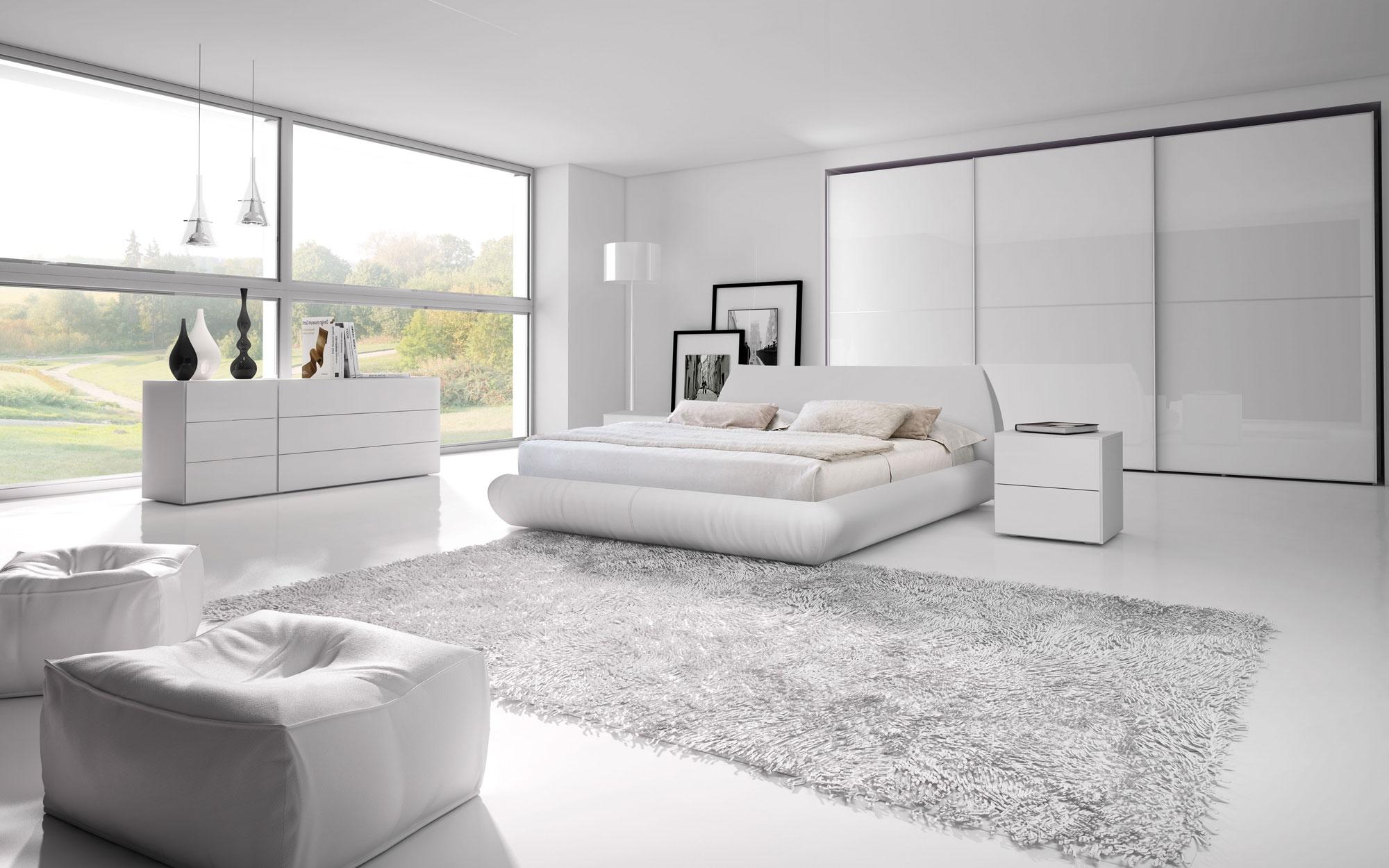 Letto nuvola matrimoniale moderno imbottiti letti a for Design moderno del letto