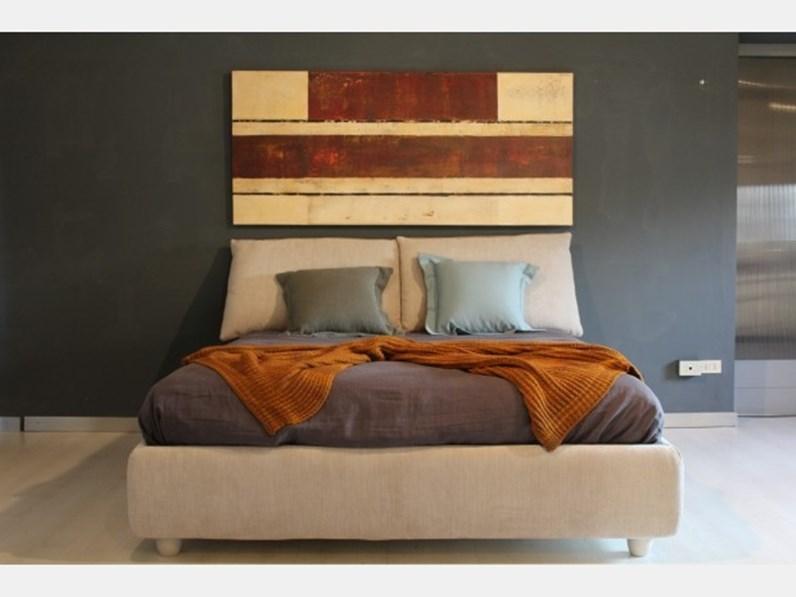 Letto in legno con contenitore Mood di V&nice a prezzo ribassato
