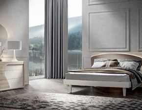 Letto in legno con giroletto Gruppo-letto mod.aurora in promo-sconto del 35%Dal cina prezzo scontato