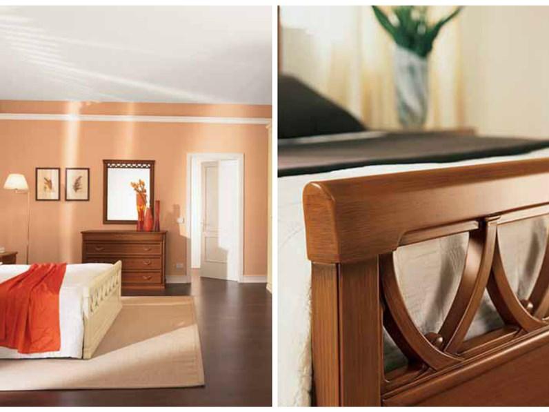 Letto in legno modello rosatea for Outlet mobili vicenza