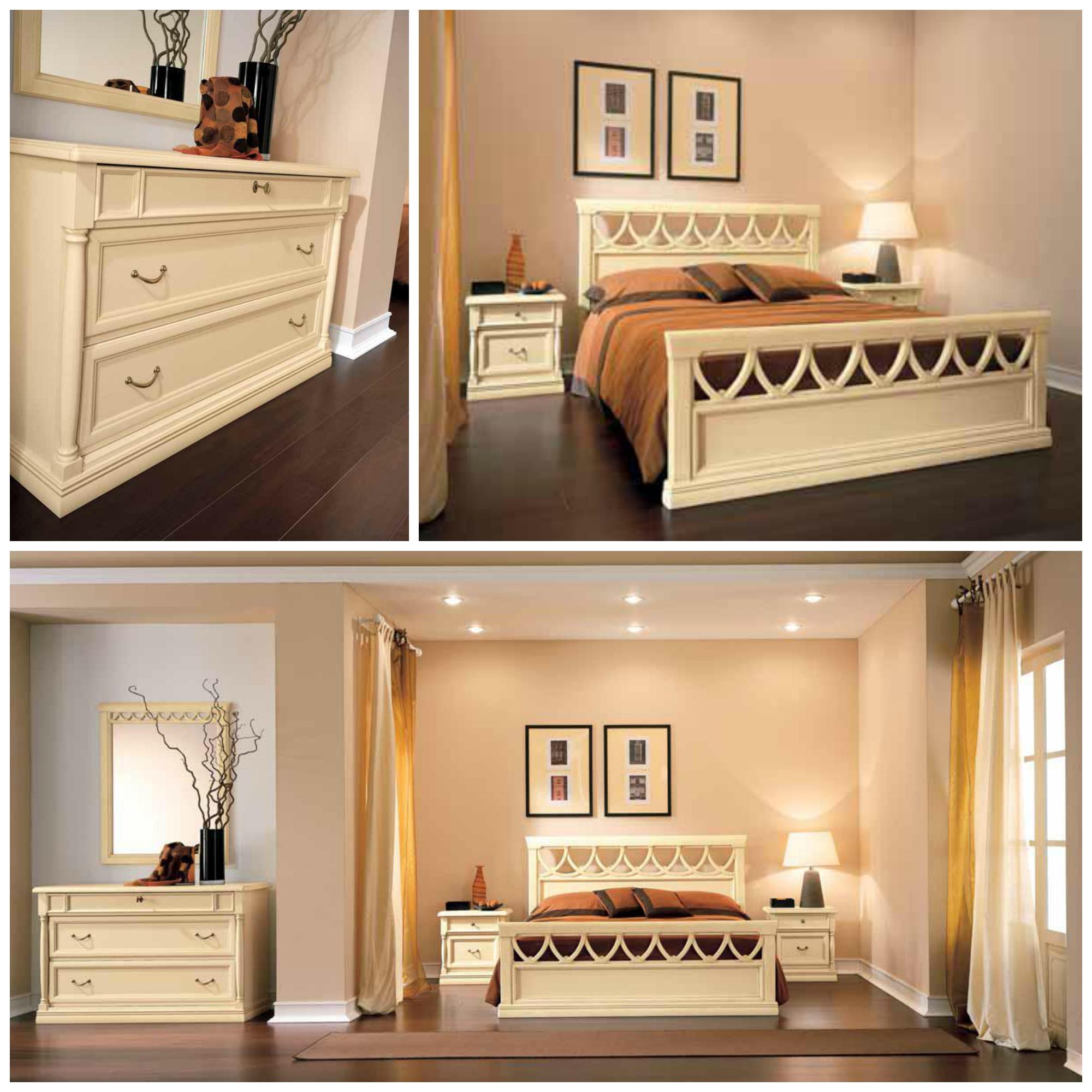 Letto in legno modello rosatea letti a prezzi scontati - Dimensioni di un letto matrimoniale ...