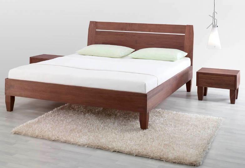 Camere da letto in legno massello idee per il design - Letti in legno ikea ...