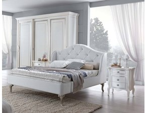 LETTO Letto matr. mod.eros capitonnè in promo-sconto 30% Eurodesign in OFFERTA OUTLET