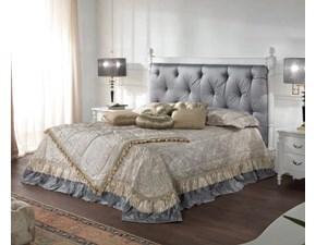 Letto Letto matrimoniale completo luxury made italy alta qualità Md work SCONTATO a PREZZI OUTLET