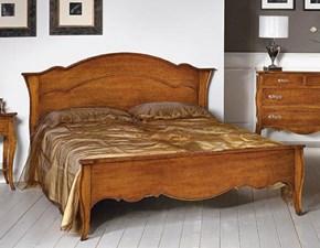 LETTO Letto matrimoniale in legno mottes mobili Artigianale in OFFERTA OUTLET