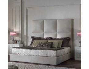LETTO Letto matrimoniale luxury made in italy velluto alta qualita' Md work SCONTATO