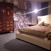 letto heron cuoio longhi