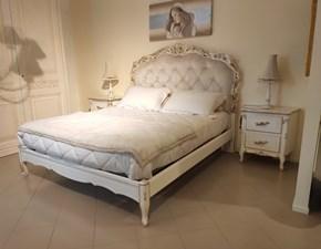 Letto matrimoniale classico Chiara 1753 Florence art a prezzo ribassato
