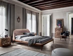 Letto matrimoniale con gambe Michelangelo mottes mobili Artigianale a prezzo ribassato