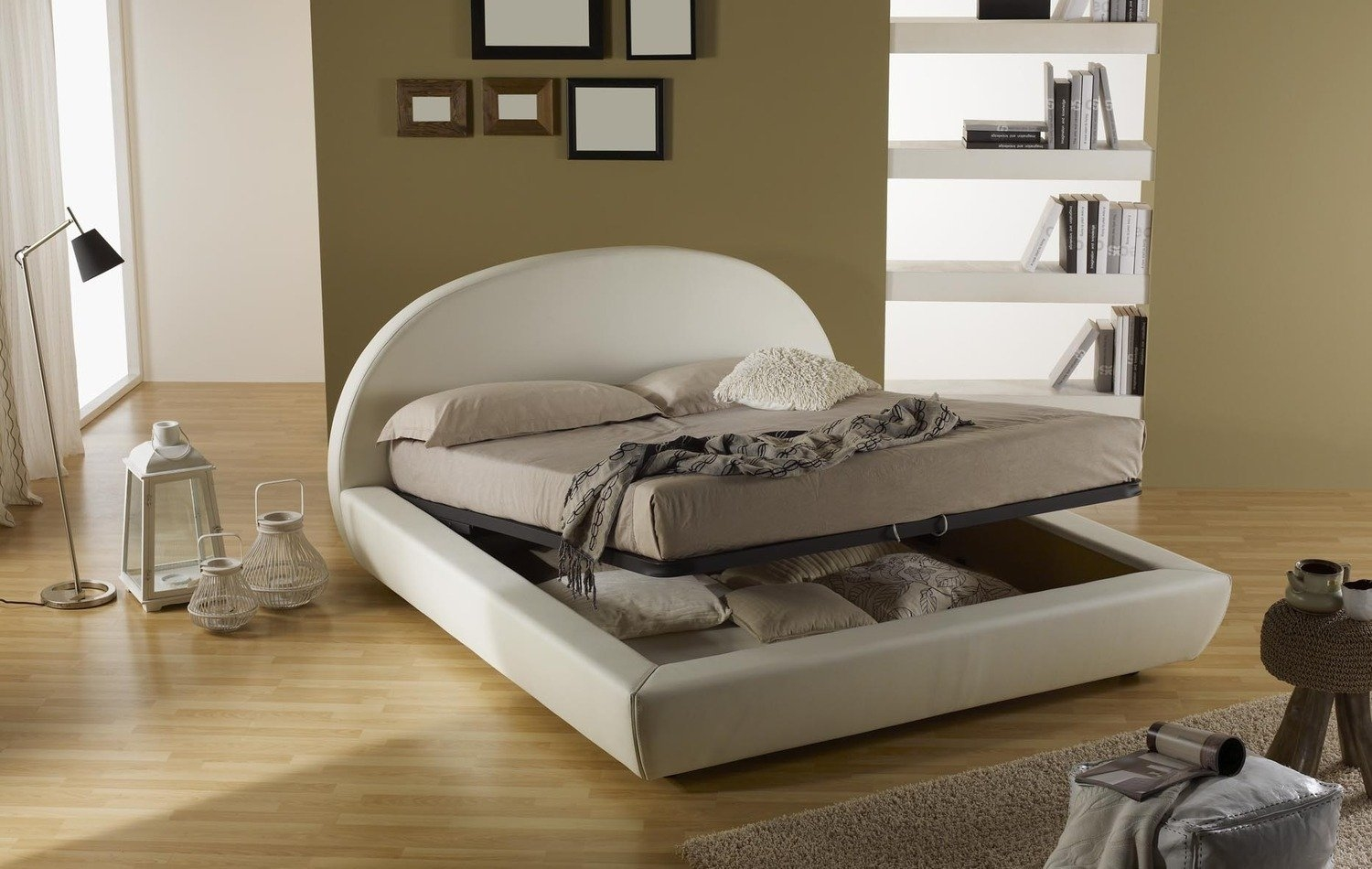 letto letto box contenitore matrimoniale letti a prezzi scontati. Black Bedroom Furniture Sets. Home Design Ideas
