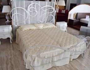 Letto matrimoniale design Diamante Barel a prezzo ribassato