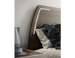 Letto matrimoniale design Letto led  180 x 200 maxi come foto Md work a prezzo ribassato
