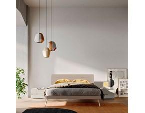 Letto matrimoniale design Orme light night letto curve Orme a prezzo scontato