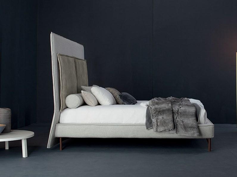 Letto matrimoniale design sp 2802 twils a prezzo scontato for Letti outlet design