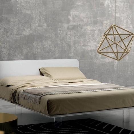 Letto matrimoniale imbottito brillant di samoa scontato letti a prezzi scontati - Quanto misura un letto matrimoniale ...