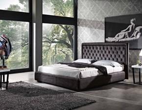 Letto matrimoniale Letto luxury contenitore velluto vari colori  Md work con un ribasso IMPERDIBILE