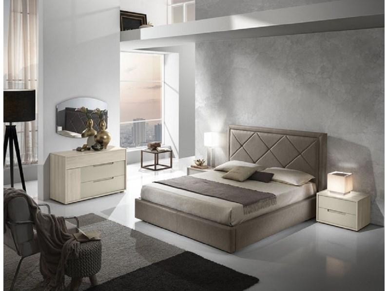 Box Contenitore Letto.Letto Matrimoniale Moderno Gruppo Letto Matrim Mod Roma Con Box