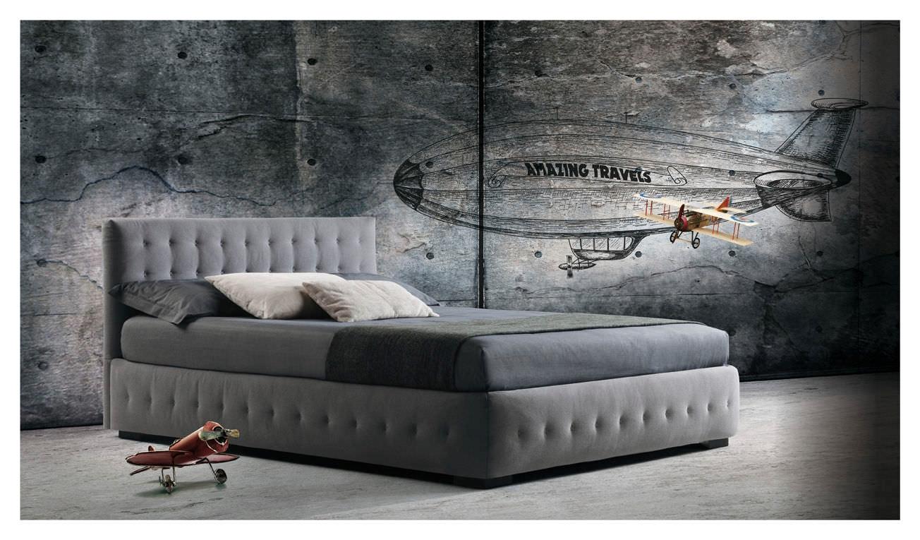 Letto con contenitore milano bedding phuket matrimoniale for Letto contenitore design