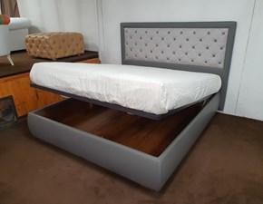 Letto moderno con contenitore Carolina Vama divani a prezzo scontato