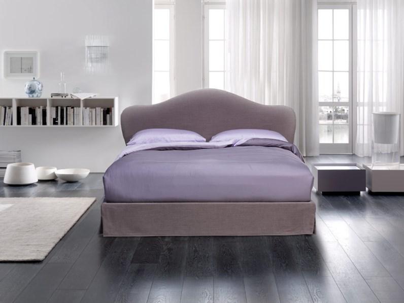 Letto moderno con contenitore maddalena altrenotti a prezzo ribassato - Prezzo letto contenitore ...