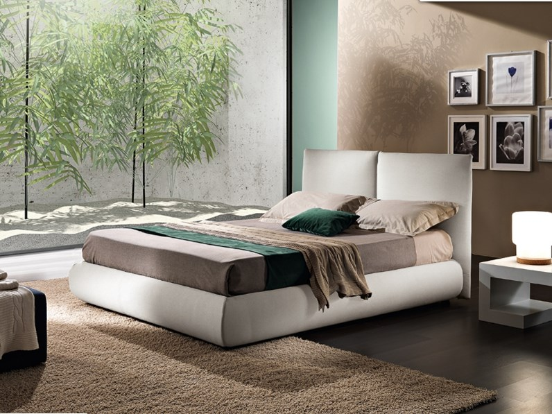 Letto moderno con contenitore tweet essepi a prezzo scontato - Prezzo letto contenitore ...