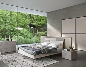 Letto moderno con giroletto Vogue Alpe a prezzo ribassato