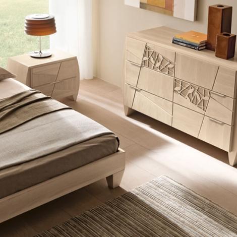 Modo10 letto camera da letto modo 10 decor scontato del - Camere da letto contemporanee prezzi ...