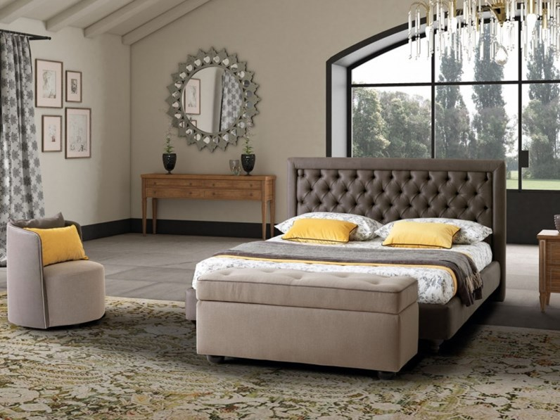Letto monet lecomfort in offerta outlet for Letti outlet design