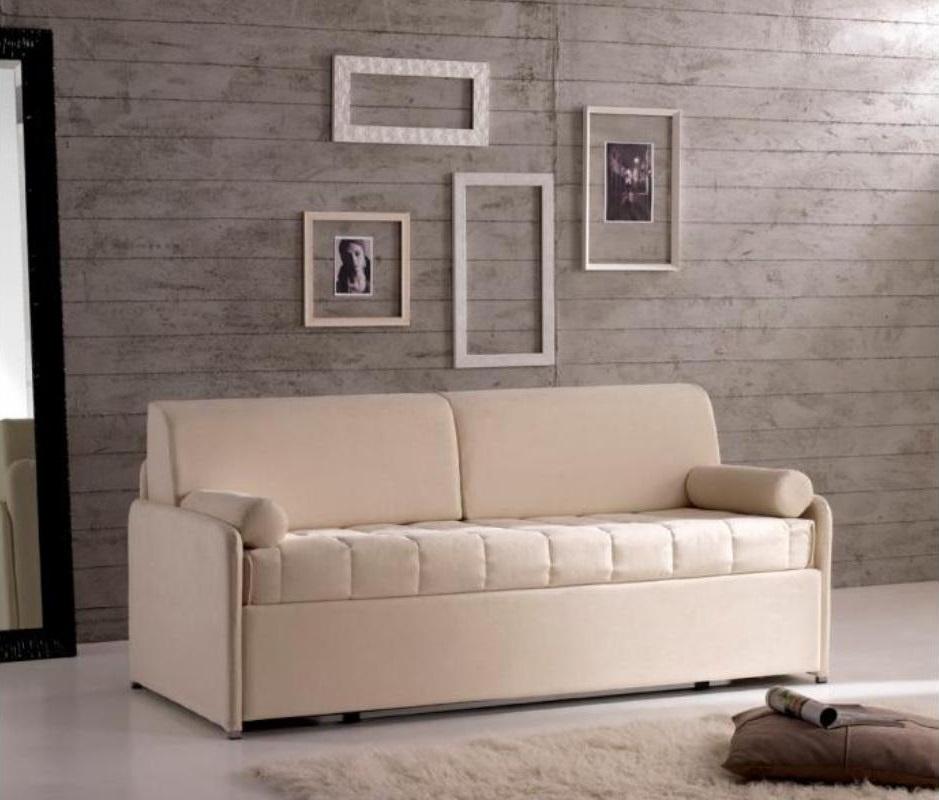 Letto o divano letto in tessuto o ecopelle di qualit a - Creare un divano ...