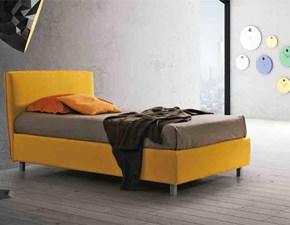 letto singolo piazza mezzo moderno contenitore