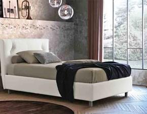 letto singolo piazza e mezzo moderno contenitore